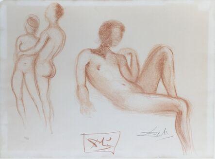 Salvador Dalí, 'Nus', 1972
