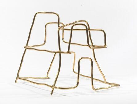 Jeff Lowe, 'Brass Coated Steel No.1', 2009