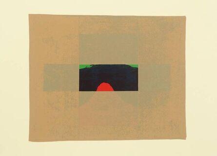 Howard Hodgkin, 'Indian View E', 1971