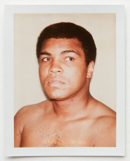 Andy Warhol, 'Andy Warhol, Polaroid Photograph of Muhammad Ali, 1977', 1977