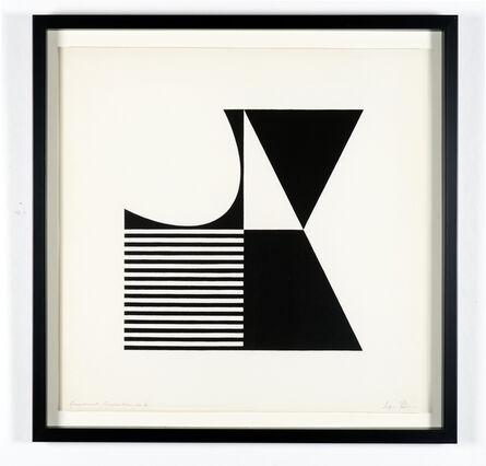 Jeffrey Steele, 'Geometrical Composition #4', 1960
