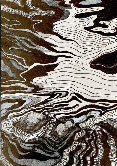 Per Adolfsen, 'Stones in the Stream', 2021