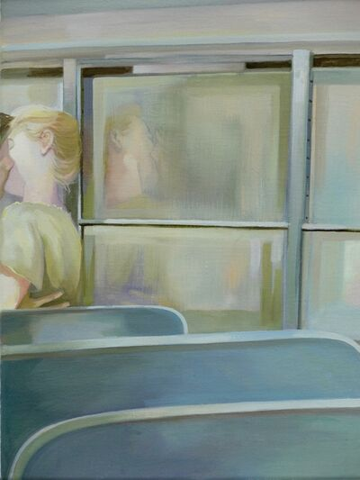 Grace O'Connor, 'Kiss me on the bus', 2016