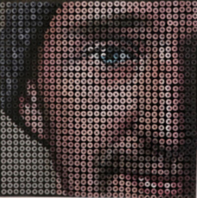 Andrew Myers, 'Close-up _ Self-Portrait w/ cap', 2016
