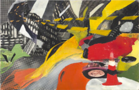 Kang-joo Lee, 'Form Color and Grid I', 2012
