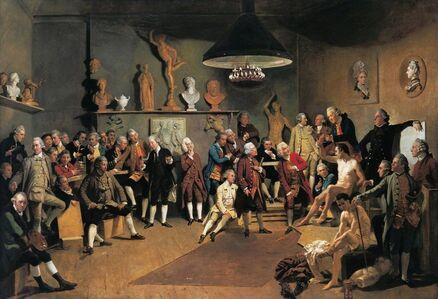 Johann Joseph Zoffany, 'Academicians of the Royal Academy', 1771-1772