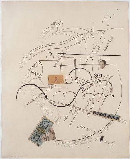 Raoul Hausmann, '391 Berlin – Dresden', 1921