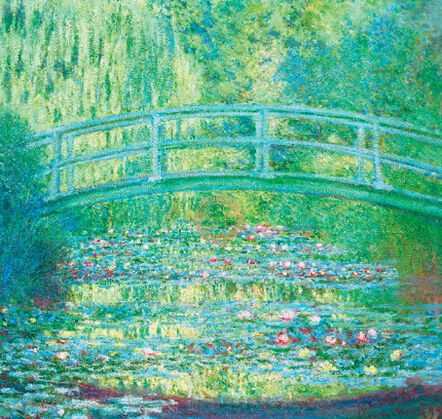 Claude Monet, 'The Waterlily Pond with Japanese Bridge, 1899', ca. 2010