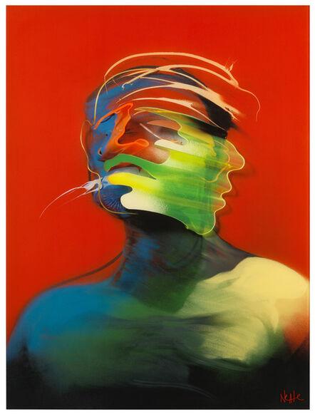 Adam Neate, 'Red Portrait (Movement)', 2013