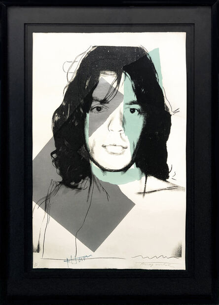 Andy Warhol, 'MICK JAGGER FS II.138', 1975