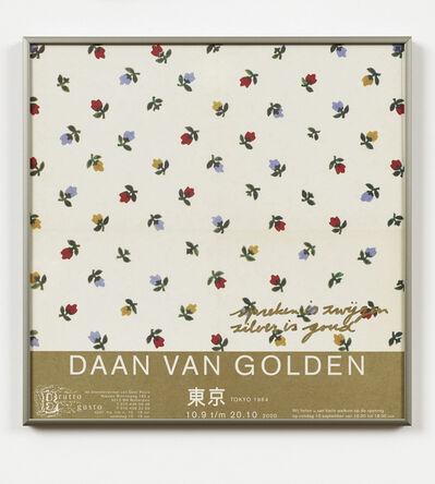 Daan Van Golden, 'spreken is zwijgen zilver is goud', 2013