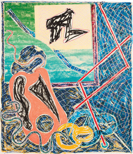 Frank Stella, 'Shards Variant Ia, from Shards Series', 1982