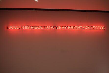 Mehmet Ali Uysal, 'Untitled (neon)', 2015