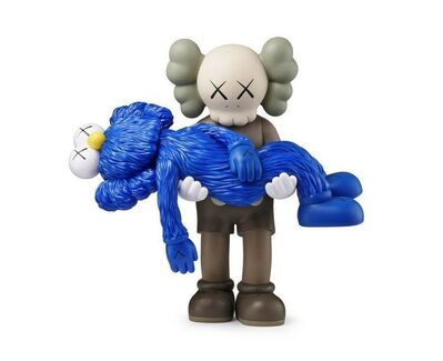 KAWS, 'GONE COMPANION BROWN AND BFF BLUE', 2019