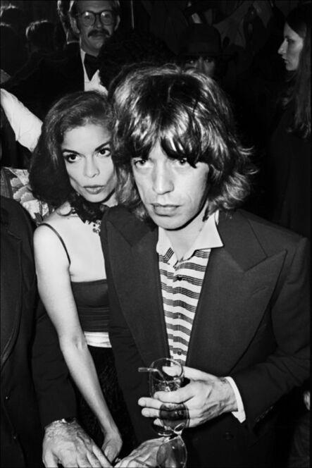 Allan Tannenbaum, 'Bianca and Mick Jagger', 1976