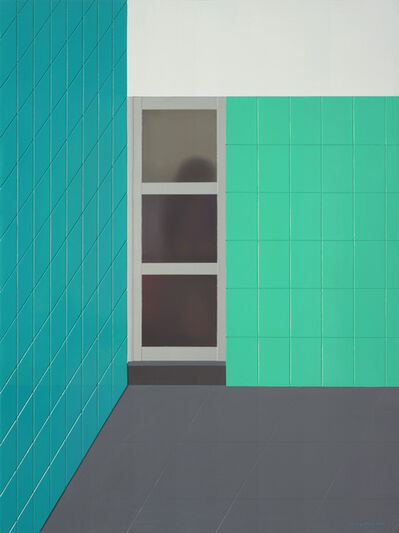 Huang Yishan, 'Blue and Green Space', 2014