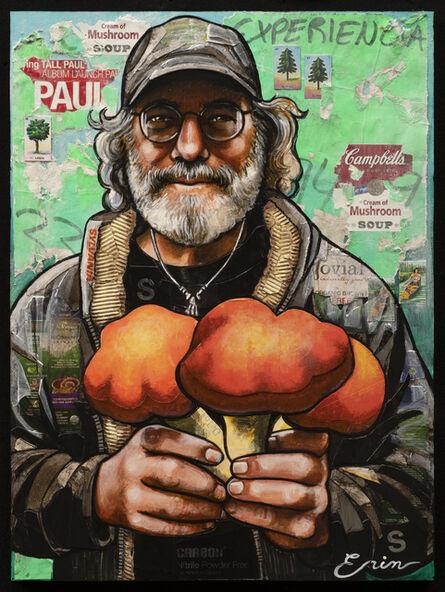 Erin Currier, 'Paul Stamets', 2021