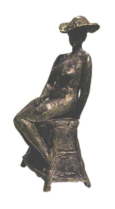 Paula Stern, 'Jeune Fille avec Chapeau Fleuri, apres Rodin'