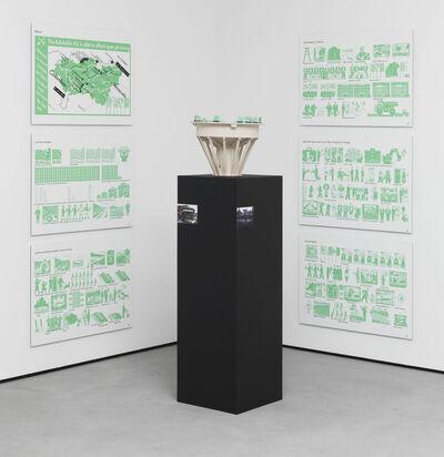 Andreas Siekmann, 'Choreografie einer Landschaft - Woher dieKohle kommt und wer die Zeche zahlt', 2012