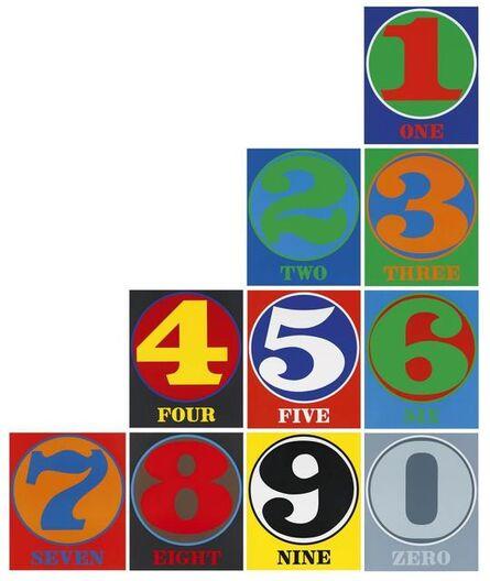 Robert Indiana, 'Numbers', 1968