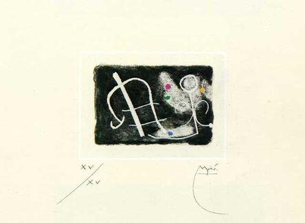 Joan Miró, 'Fusees Nous Avons', 1959
