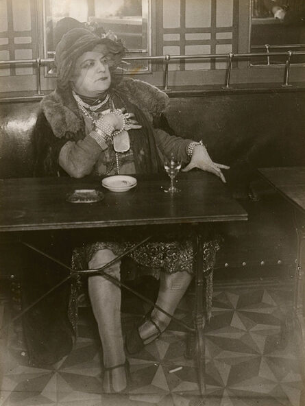 Brassaï, 'La Môme Bijou, Bar de la Lune, Paris,', c. 1932
