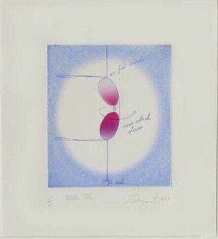 James Rosenquist, 'Water Lily', 1981