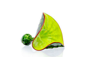 Dale Chihuly, 'Aspen Green Persian Workshop Edition signed', 2009
