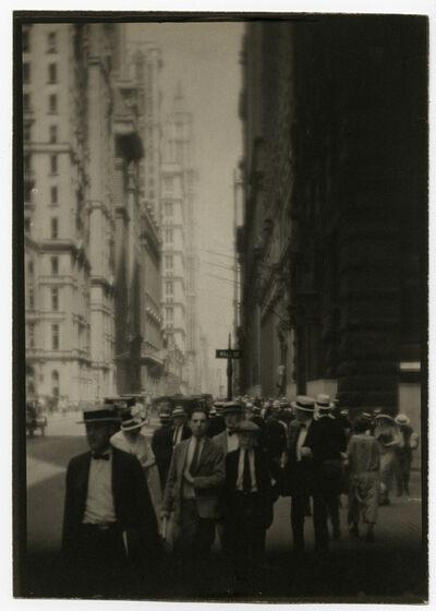 Ira Martin, 'Wall Street', 1921-1925