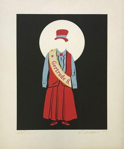 Robert Indiana, 'GERTRUDE STEIN', 1977