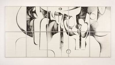 Ibrahim El-Salahi, 'In the Present II', 1994