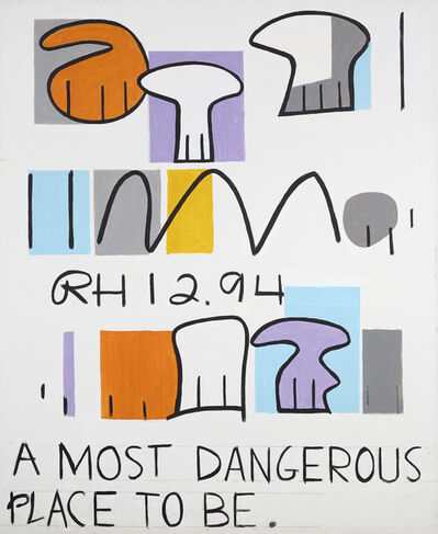 Raymond Hendler, 'A Most Dangerous Place To Be', 1994