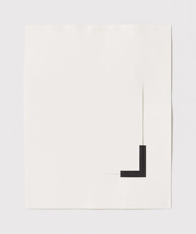 Stephen Antonakos, 'Untitled Cut, S#10', 1977