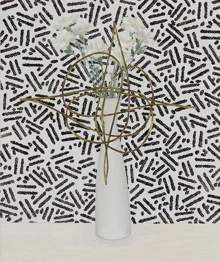 Jen Mazza, 'Carnations with Fantasy Pattern (Zeisel)', 2014