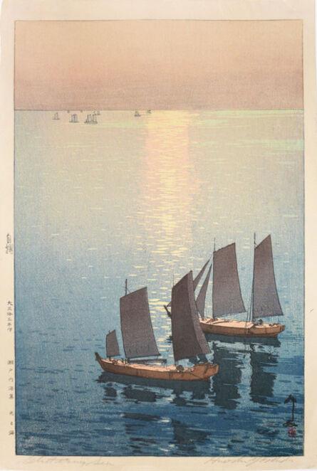 Yoshida Hiroshi, 'Glittering Sea', 1926
