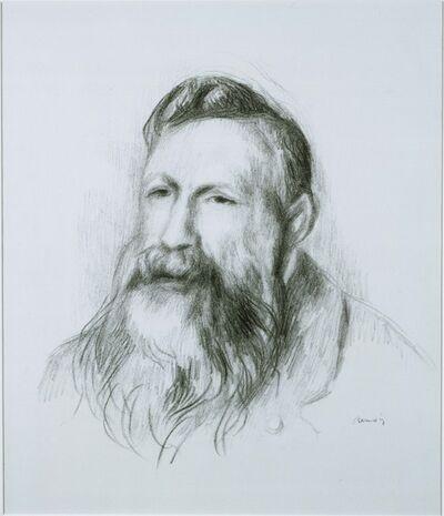 Pierre-Auguste Renoir, 'Portrait of Rodin'