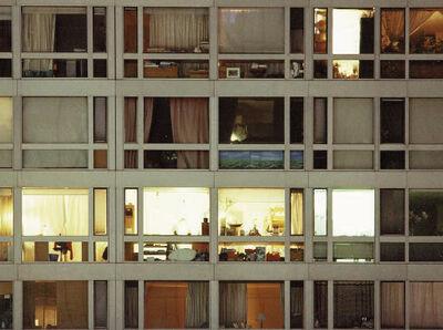 Anna Malagrida, 'S/T (colmena 24 ventanas)', 2002