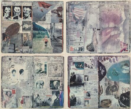 Peter Beard, 'Diary Pages', 1988
