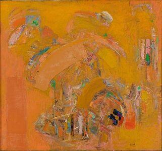 Chafic Abboud, 'Les cafés engloutis', 1990