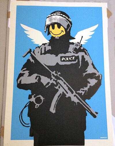 Banksy, 'Flying Copper', 2003