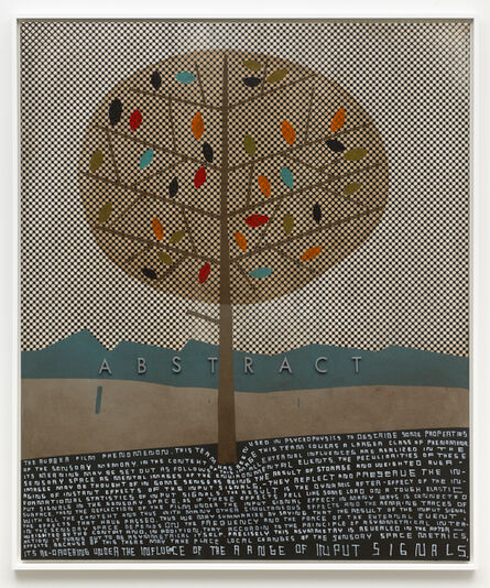 Thomas Zipp, 'A.O.: ABSTRACT (The rubber film phenomenon)', 2017