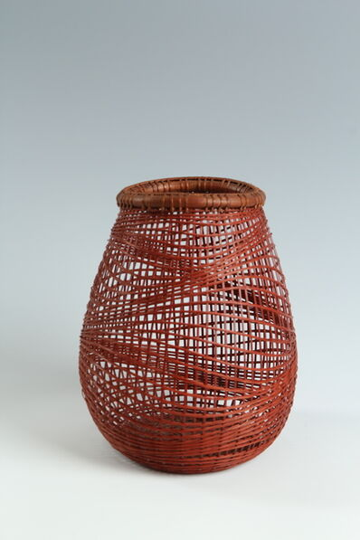 Abe Kiraku, 'Bamboo Basket (T-3714)', Heisei era (1989-present) ca 2005