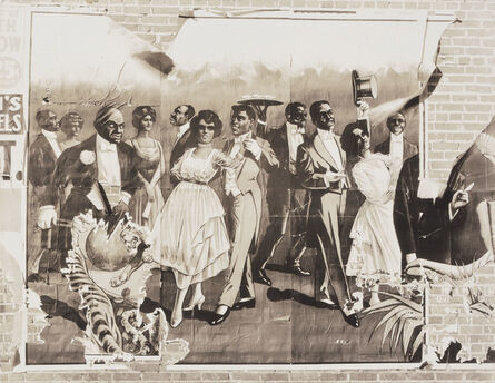 Walker Evans, 'Minstrel Poster Detail, Demopolis, Alabama', 1936
