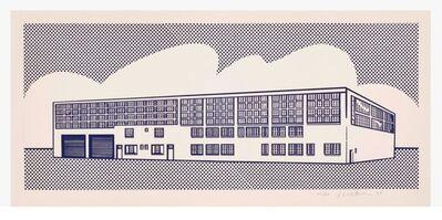 Roy Lichtenstein, 'Roy Lichtenstein 'Real Estate' Lithograph 1969', 1969