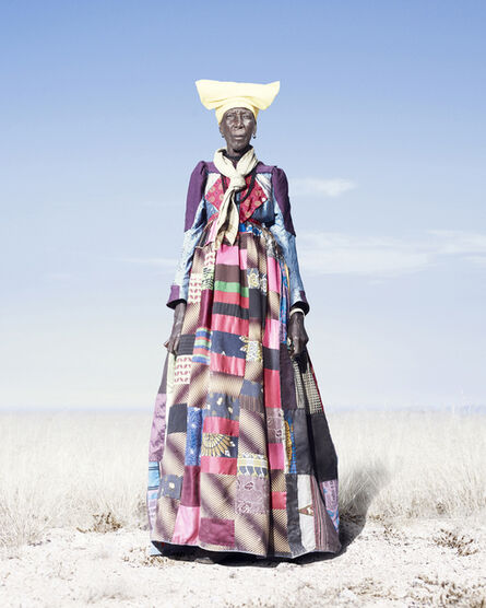 Jim Naughten, 'Herero Woman in Patchwork Dress', 2012