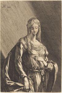 Gabriel Ehinger after Johann Heinrich Schönfeld, 'The Virgin', ca. 1680