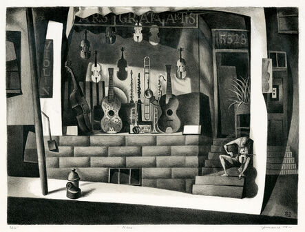 Benton Spruance, 'Nero', 1944