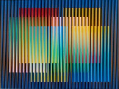 Carlos Cruz-Diez, 'Color Aditivo Panam 8', 2010