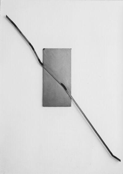 Josef Dabernig, 'Serie A.B.,F. Relief 18', 1987