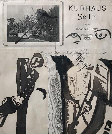 Erwin Blumenfeld, 'Kurhaus Sellin (Sellin Sanatorium)', 1919-1924